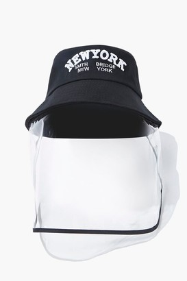 Forever 21 Face Shield Bucket Hat