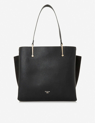 Dune Donyx faux-leather tote bag