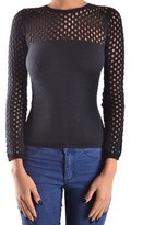 Versace Women's Black Wool Jumper.