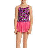 Jacques Moret Sleeveless Abstract Dance Dress - Preschool