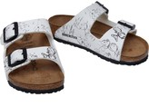 Birkenstock Kids Arizona Birko-Flor Narrow Fit Sandals Mickey Heritage White
