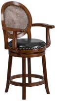 "Nyo Swivel Bar & Counter Stool Darby Home Co Seat Height: Counter Stool (26"" Seat Height)"