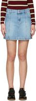 Etoile Isabel Marant Blue Denim Candice Miniskirt