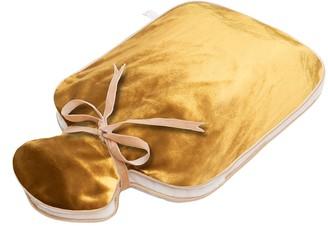 Holistic Silk Silk Velvet Hot Water Bottle - Gold
