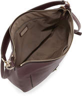 Furla Jo Medium Pebbled Hobo Bag, Wine