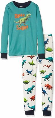 Hatley Boy's Organic Cotton Long Sleeve Applique Pyjama Set