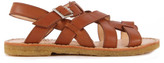 Angulus Sale - Multi Strap Buckled Leather Sandals