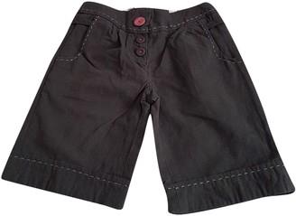 Missoni Grey Cotton Shorts