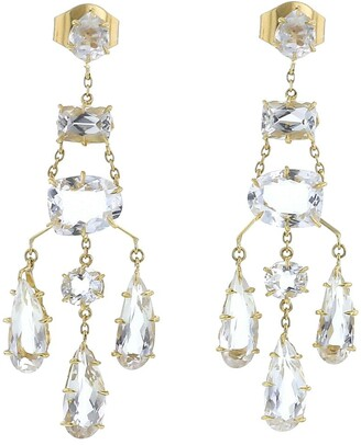 H.Stern 2010s Pre-Owned Yellow Gold Chandelier Earrings