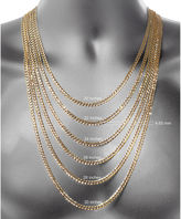 FINE JEWELRY Made In Italy 10K Gold 22 Inch Chain Necklace