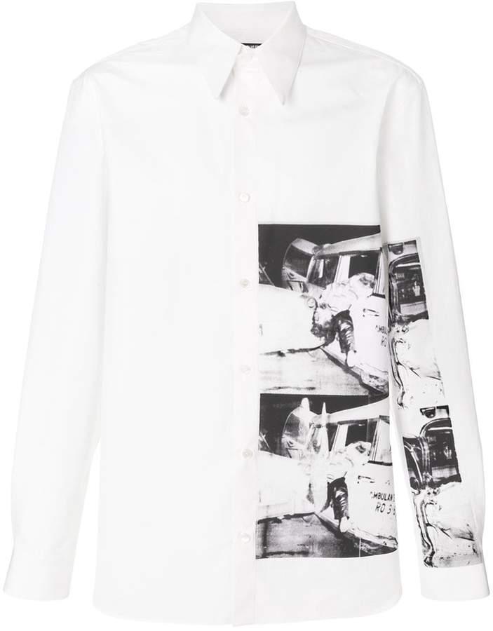 Calvin Klein x Andy Warhol Foundation Ambulance Disaster shirt