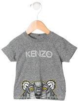 Kenzo Girls' Tiger Print Top
