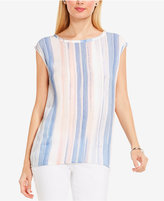 Vince Camuto TWO by Paintwash-Striped Top