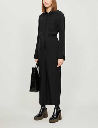 Topshop Boutique wide-leg crepe jumpsuit