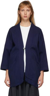 Blue Blue Japan Blue Sashiko Hanten Jacket