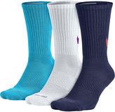 Nike 3-pk. Mens Dri-FIT HBR Crew Socks