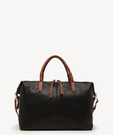 Sole Society Women's Mallory Weekender Vegan Leather In Color: Black Combo Bag From
