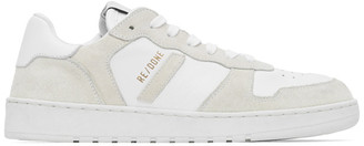 RE/DONE White 80s Basketball Sneakers