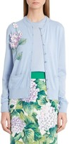 Dolce & Gabbana Women's Embellished Cashmere & Silk Button Cardigan