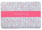Geometric Memory Foam Bath Mat