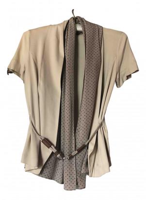 Fabiana Filippi Beige Cotton Knitwear