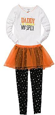 Carter's 3-pc. Halloween Pajamas - Girls 2t-5t