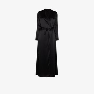 La Perla Tie Waist Silk Robe