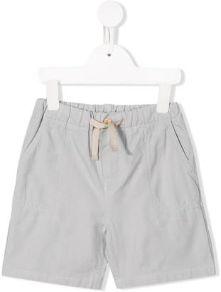 Knot Drawstring Waist Shorts
