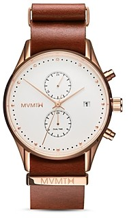 MVMT Voyager Rosewood Watch, 42mm