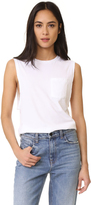 Baldwin Denim Jenn Muscle Tank with Pocket