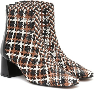 Souliers Martinez Nova Ibiza 50 leather ankle boots