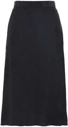 Rag & Bone Luca Striped Washed-silk Skirt