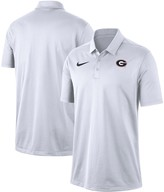 Nike Men's White Georgia Bulldogs Franchise Performance Polo