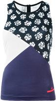 adidas by Stella McCartney Run printed tank top - women - Polyester/Spandex/Elastane - XS