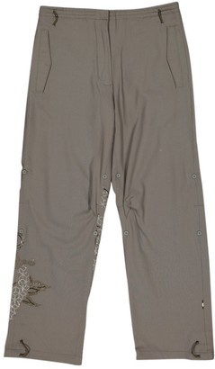 MHI Khaki Wool Trousers