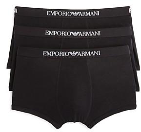 Giorgio Armani Emporio Pure Cotton Trunks - Pack of 3