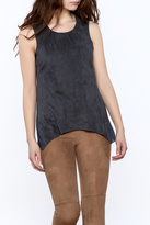 Bishop + Young Faux Suede Tank Top