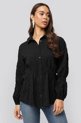 NA-KD Structured Collar Blouse
