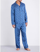Derek Rose Silk Pyjama Set