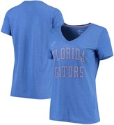 Nike Women's Royal Florida Gators Retro Pack Tri-Blend V-Neck T-Shirt