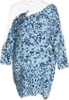 Alena Akhmadullina Sequin Denim Dress
