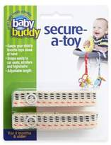 Baby Buddy Secure-a-Toy Multicolor Straps (Set of 2)