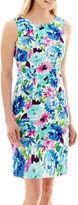 JCPenney Alyx Floral Sheath Dress