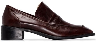 Osoi Derrick 40mm square-toe loafers
