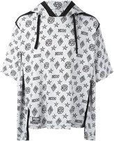 Kokon To Zai double sleeves hoodie - unisex - Cotton - XS