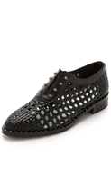 Freda Salvador Wish Woven Oxfords