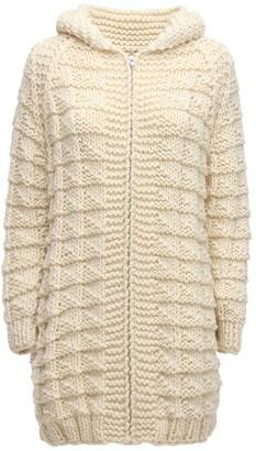 Gudrun & Gudrun Daphne Wool Knit Zip-up Cardigan