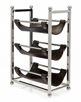 Philip Whitney 3-Bottle Wine Rack