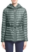 Moncler Women's 'Raie' Water Resistant Hooded Down Jacket