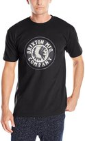Brixton Men's Rival Short Sleeve T-Shirt, Black/Charcoal